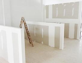 Colocacion de durlock construccion en seco for Tabiques divisorios para oficinas