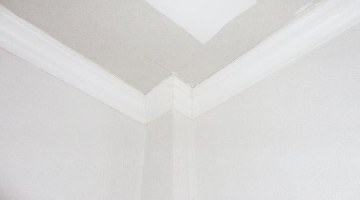 Colocaci n durlock y molduras de telgopor 1541886361 for Cielorrasos modernos ver fotos