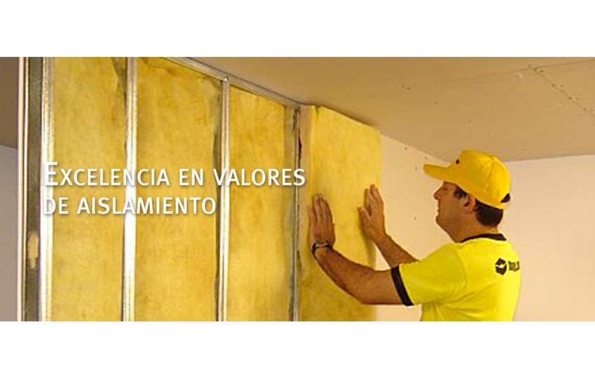 Colocacion de durlock construccion en seco - Aislamiento acustico paredes interiores ...